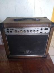 Caixa Fran dl400 pra guitarra com distorção