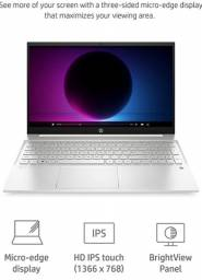Hp pavilion 15 Intel core i5 1135G7 12gb ssd