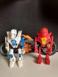 Lego Hero - Furno Bike e Preston Stormer