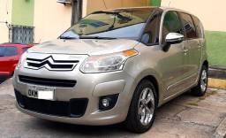 C3 picasso 2013, licenc. 2021, exclusive 1.6, autom, 69.400 kms originais, impecável