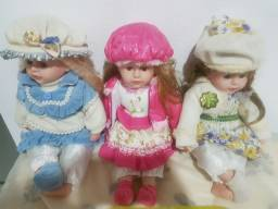 3 bonecas camponesas