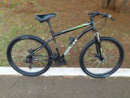Bicicleta Houston aro 27,5 em bom estado já revisada