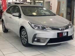 Corolla 1.8 CVT GLI 2018 ( RODAS + B. COURO + MULTIMÍDIA )