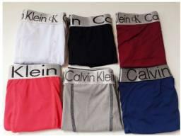Sacoleiras - 50 Cuecas Calvin Klein Lisas e Estampas