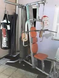 Título do anúncio: 90kg estação musculação com leg press