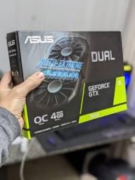 Placa De Vídeo Nvidia Asus Dual Geforce Gtx 1650 Dual Oc 4gb