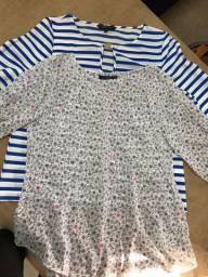 Combo blusas femininas - M/42