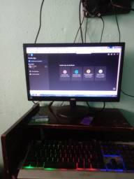 Monitor AOC LED 19.5 Widescreen (1600x900)(VGA) E2070SWNL