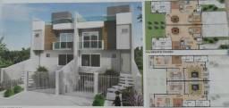 Sobrado tríplex novo - Abranches - R$ 820.000,00