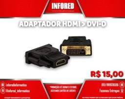 Título do anúncio: Adaptador HDMI para DVi-D - R$15,00