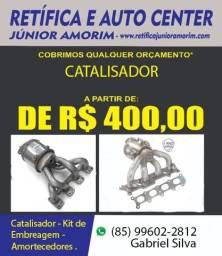 Catalisador Celta/Corsa/Prisma/Palio 12 meses de Garantia
