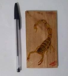 Pintura escorpião