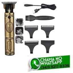 Máquina Profissional Hair clipper Cabelo e Barba