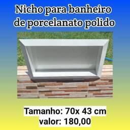 Título do anúncio: Nicho para banheiro de porcelanato polido