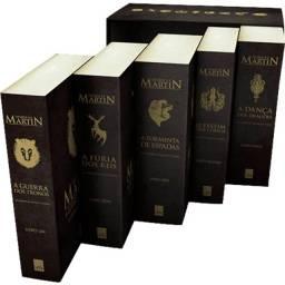 Box livros Game Of Thrones