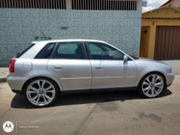 Audi a3 1.8 T o mais completo.  Relíquia.Vende-se ou troca-se. Aceito proposta