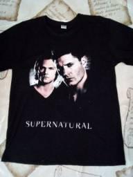 Camisa supernatural camiseta sobrenatural