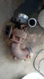 Vendo turbina com flange do freio motor , semi nova