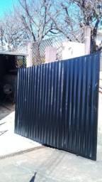 Portão 6 metros quadrado