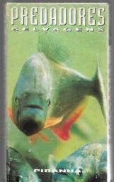 olx273 fita vhs predadores selvagens piranha raridade entrega via correios