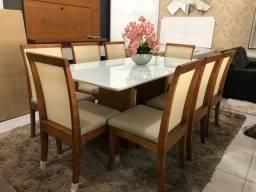 Título do anúncio: Mesa nova completa pronta entrega telinha e  acabamento laka luxo