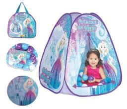 Título do anúncio: Toca Infantil Menina Barraca Infantil Princesa Braskit com 50 bolinhas