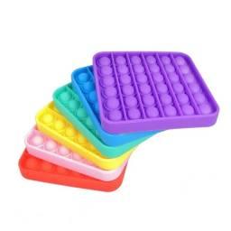 Brinquedo anti stress tik tok bolha sensorial (fidget toys)