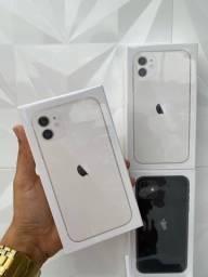 Título do anúncio: iPhone 11 branco - 64gb lacrado com nf