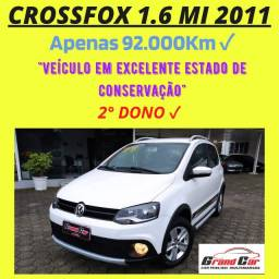 CrossFox 1.6 MI 2011 Manual/ Carro Lindo