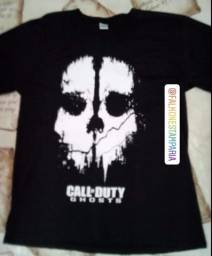 Camisa call of duty camisa jogo video game