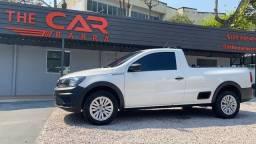 Título do anúncio: Volkswagen Saveiro 2019 CS 1.6 Robust Único Dono Completa Só 47.000 Km