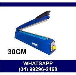 Título do anúncio:  Seladora Elétrica Manual 30cm * 220v * Fazemos Entregas
