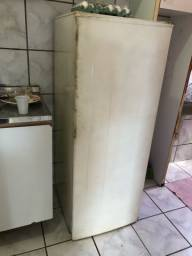 Geladeira funcionando precisa reparo na porta