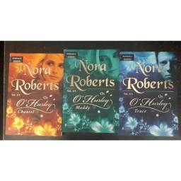 Título do anúncio: Combo 3 livros  Série Os O'Hurley - Nora Roberts