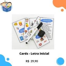 Cards Atividades Educativas