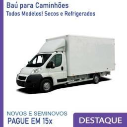 Baú Refrigerado e Baú Seco para Caminhão Modelo Ano 2010, 2012, 2.. AB 1228
