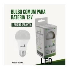 Lâmpada LED 12v 9w Automotiva P/ Carro Ônibus Solar Bateria Branco Fria
