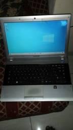 NoteBook  sansung  rv  dual core 4 gigas memória  funcionando
