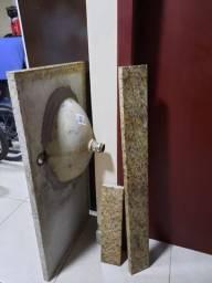Kit de banheiro completo seminovo em ótimo estado