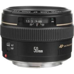 Camera t5i kit completo + lente 50mm + mochila + cartão de memória