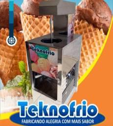 Máquina sorvete e açaí