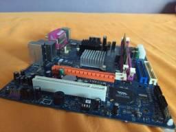 Placa Mãe Vvcn896bd Ddr2 Com Processador