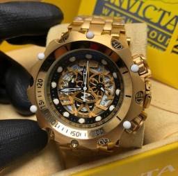 Relógios invicta banhados a ouro 18k