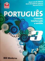 PORTUGUÊS 3 - CONTEXTO, INTERLOCUÇÃO E SENTIDO