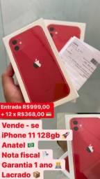 iPhone 11 128gb Anatel lacrado com nota