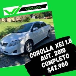 Corolla Xei 1.8 Aut 2010 Completo