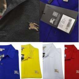 Título do anúncio: camisa polo burberry original