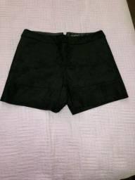 Short veludo preto - Lelis blanc - Tam: 36