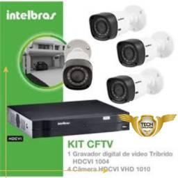 câmeras de segurança CFtV