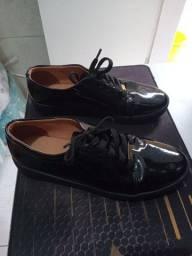 Sapato feminino fechado, preto, 39
